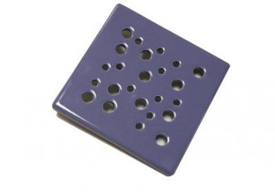 kratka wentylacyjna z ceramiki granatowy 15 x 15 cm